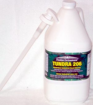 Tundra 206 will strip away dirt, grease and grime without stripping the natural oils from your hands.